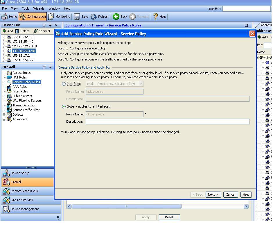 Configuring Cisco ASA NetFlow via ASDM - ManageEngine Blog