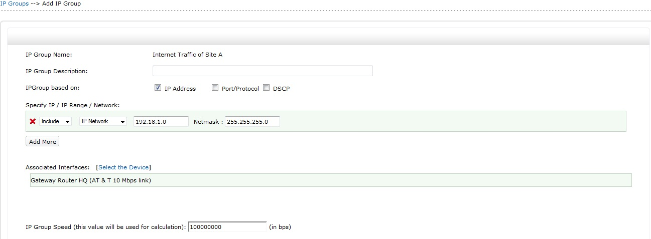 NetFlow Analyzer: Traffic monitoring in MPLS type of Network is made ...