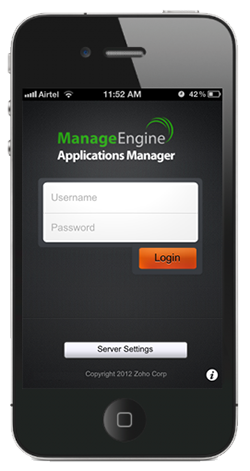 iphone login New in Applications Manager: Improved java transaction monitoring, iPhone app & more