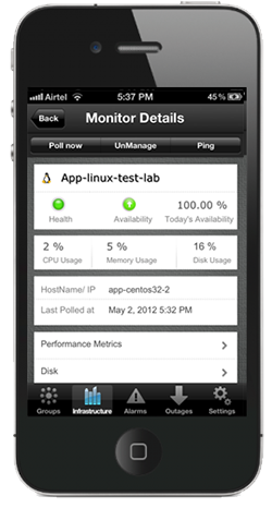 iphone mgdetails New in Applications Manager: Improved java transaction monitoring, iPhone app & more