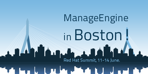 All set for our Red Hat Summit debut!