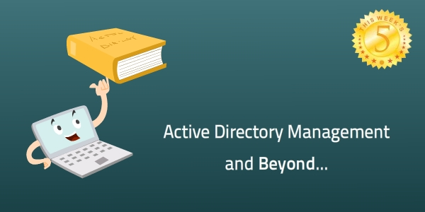 This Week's Five: Active Directory Management & Beyond