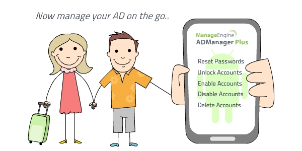 Manage Your AD on the go
