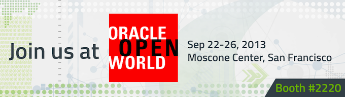 Meet us at Oracle OpenWorld