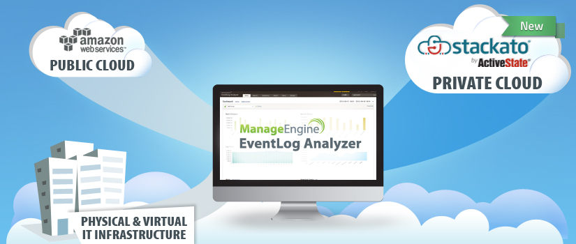 ManageEngine's EventLog Analyzer Advances the Cloud with ActiveState Stackato