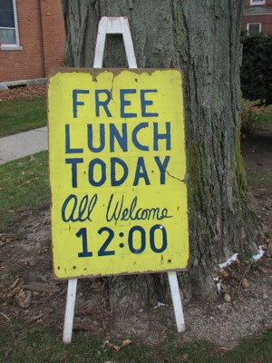 Guest Blog : No Such Thing as a Free Lunch?
