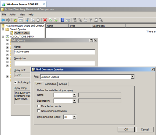 How to Track Down Inactive Users in Active Directory
