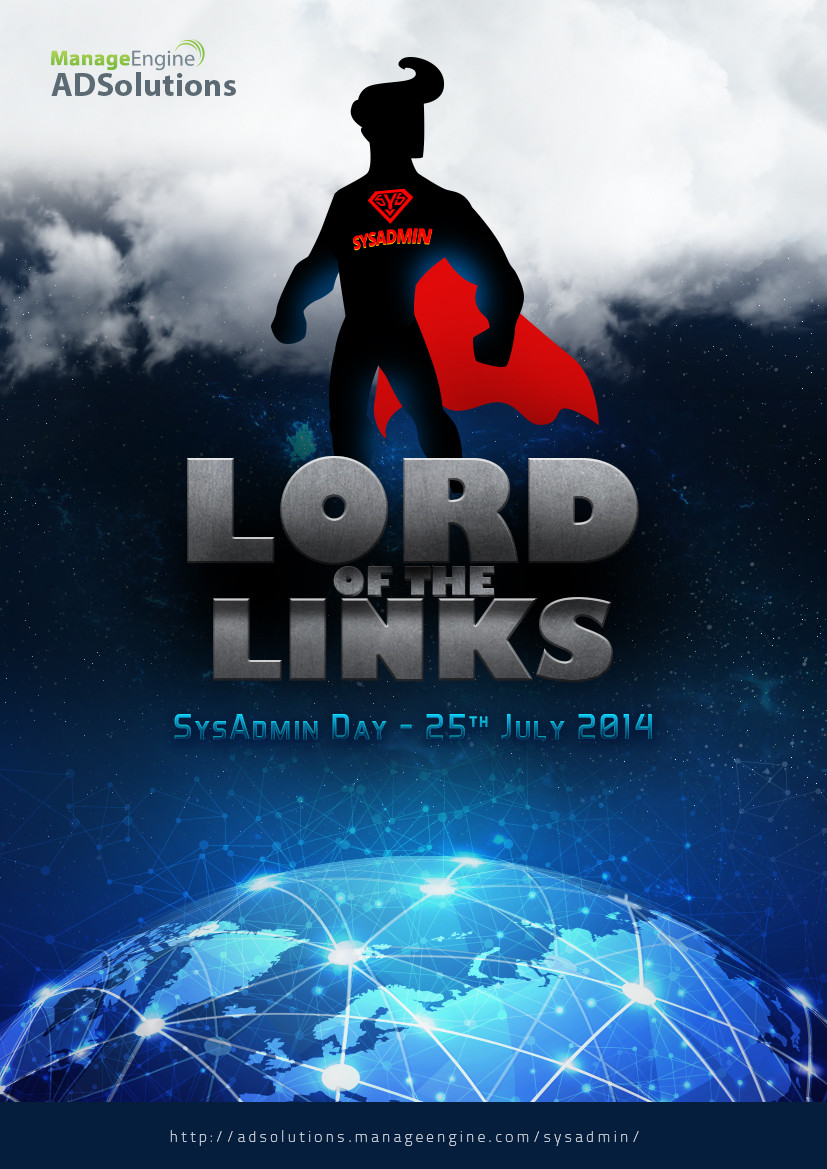"Salute the ""Lord of the Links"" on World SysAdmin Appreciation Day"