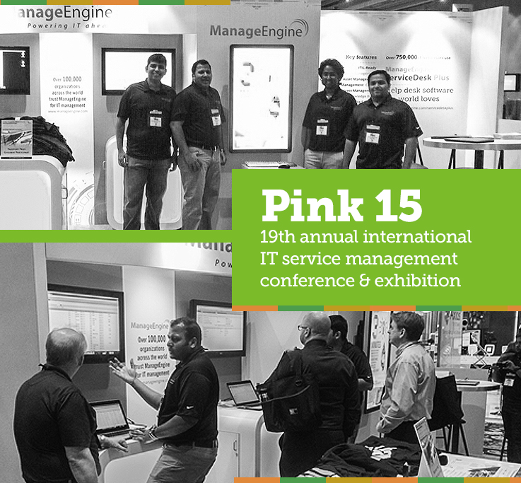 For a Change, What Happens in Vegas Isn't Staying in Vegas: Pink15 Annual International IT Service Management Conference and Exhibition