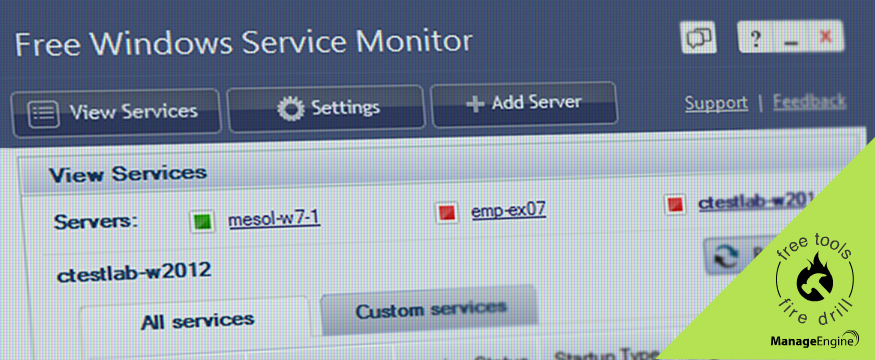 3 Reasons Why an SMB Must Get the Free Windows Service Monitoring Tool