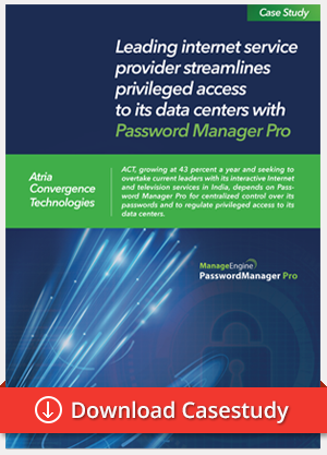 Password Manager Pro case study