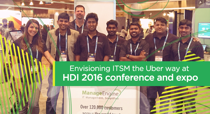 Envisioning ITSM the Uber way at HDI 2016 Conference & Expo