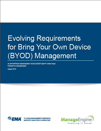 Understand BYOD trends and requirements to manage them better.