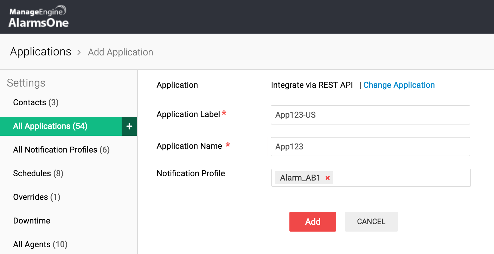Custom API integrates in-house apps with AlarmsOne