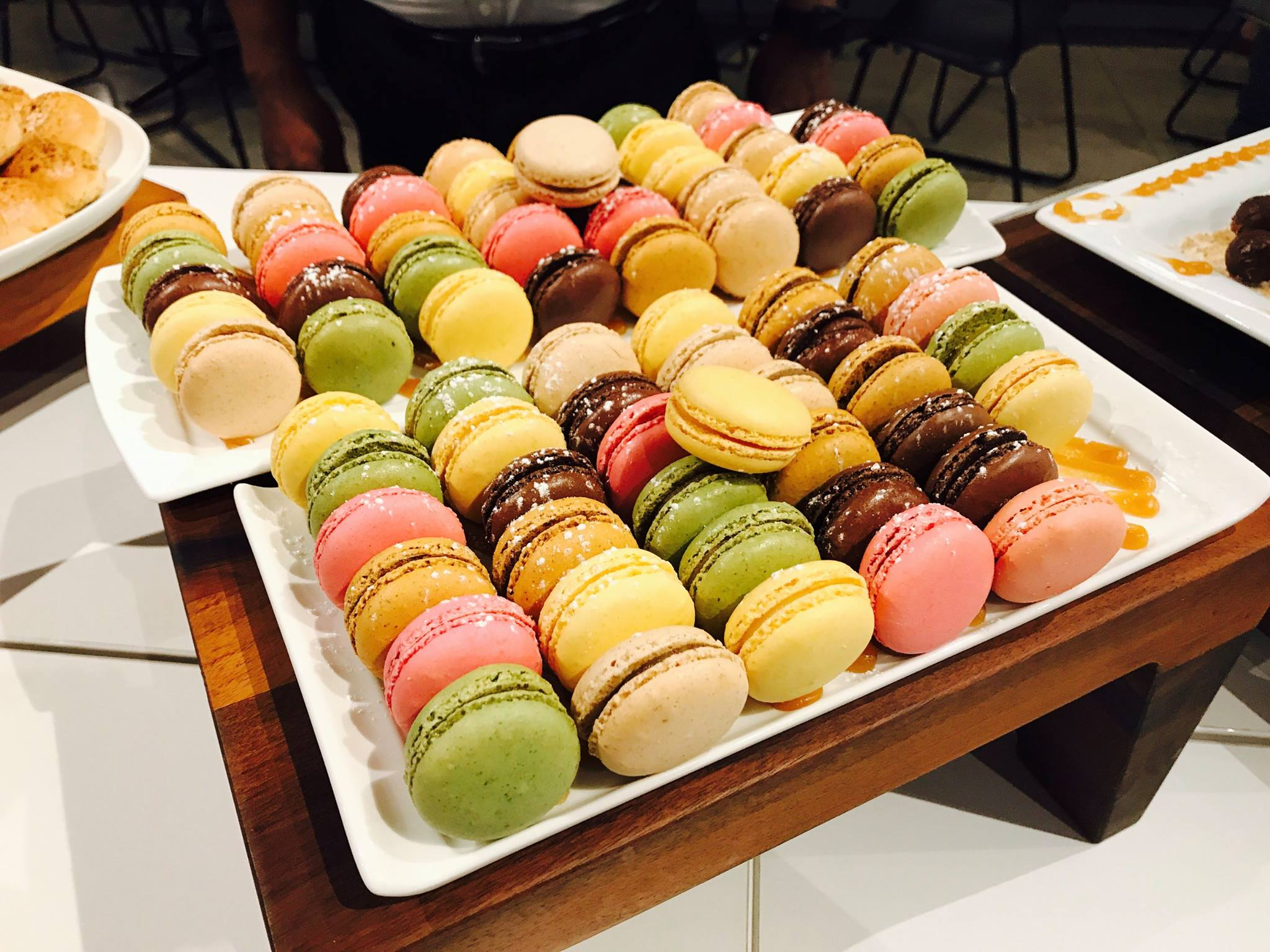 French macrons at the ManageEngine User Conference