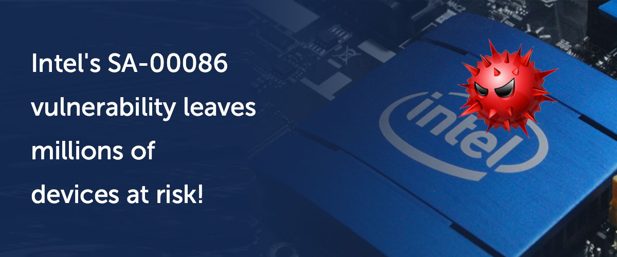 Intel SA-00086 vulnerability