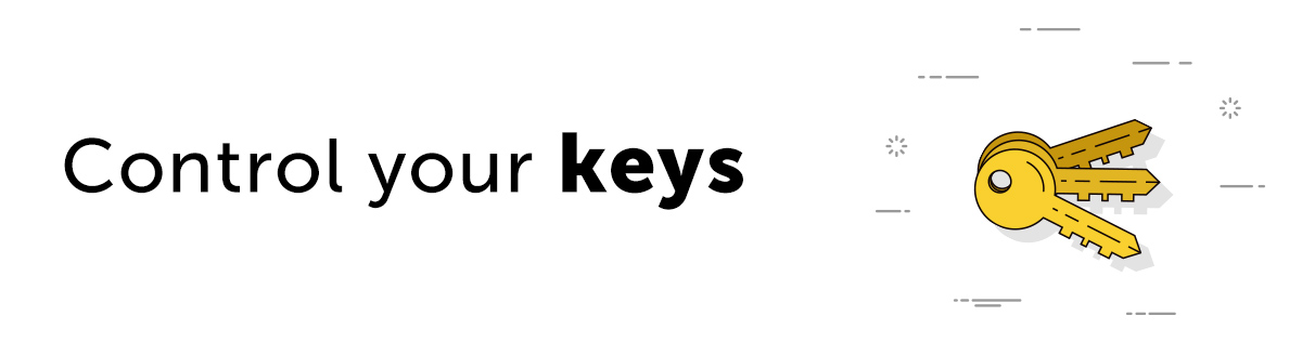 Control your keys