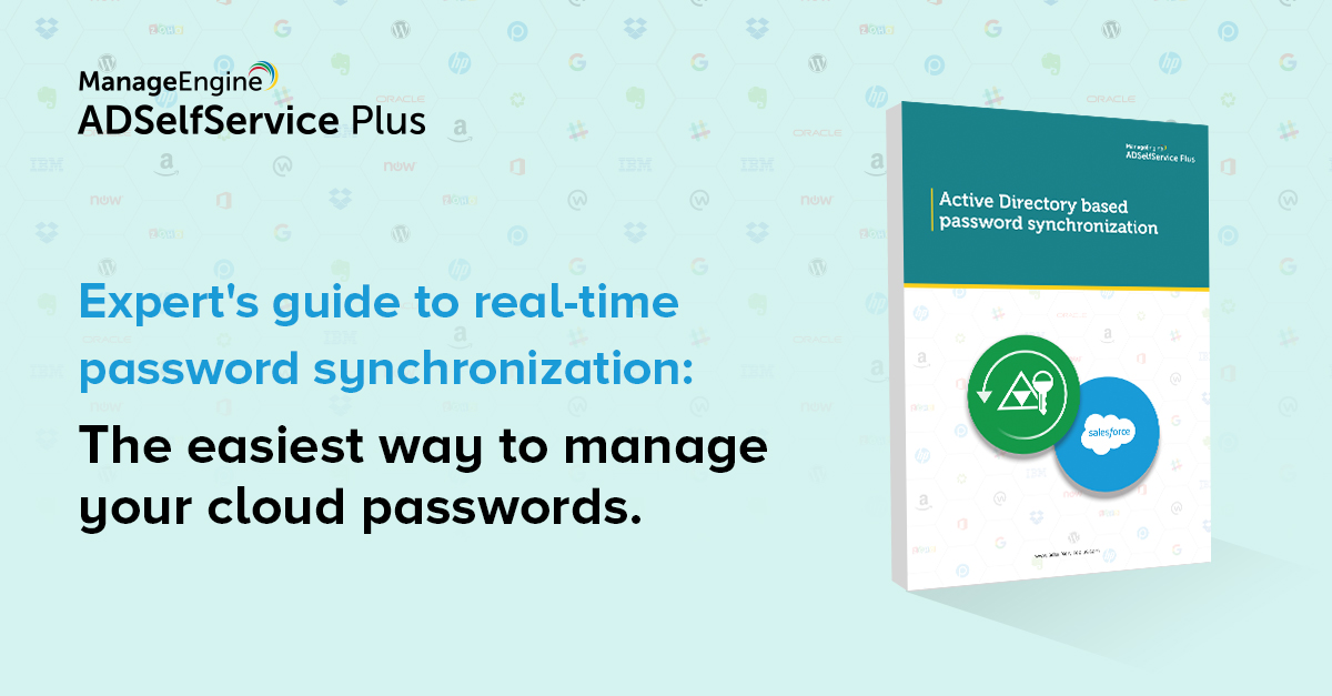 Free e-book] How password synchronization can help solve