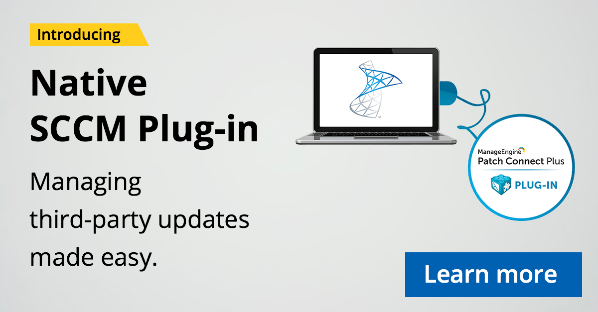 Use Patch Connect Plus' native plug-in to integrate with