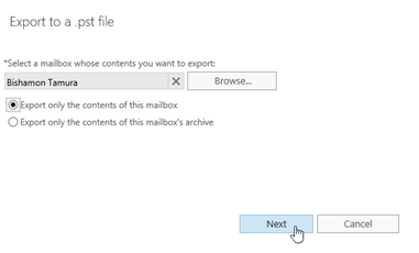 Import or export your mailboxes to PST files with this free