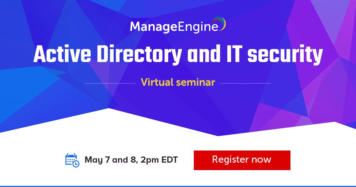 ManageEngine Online seminar