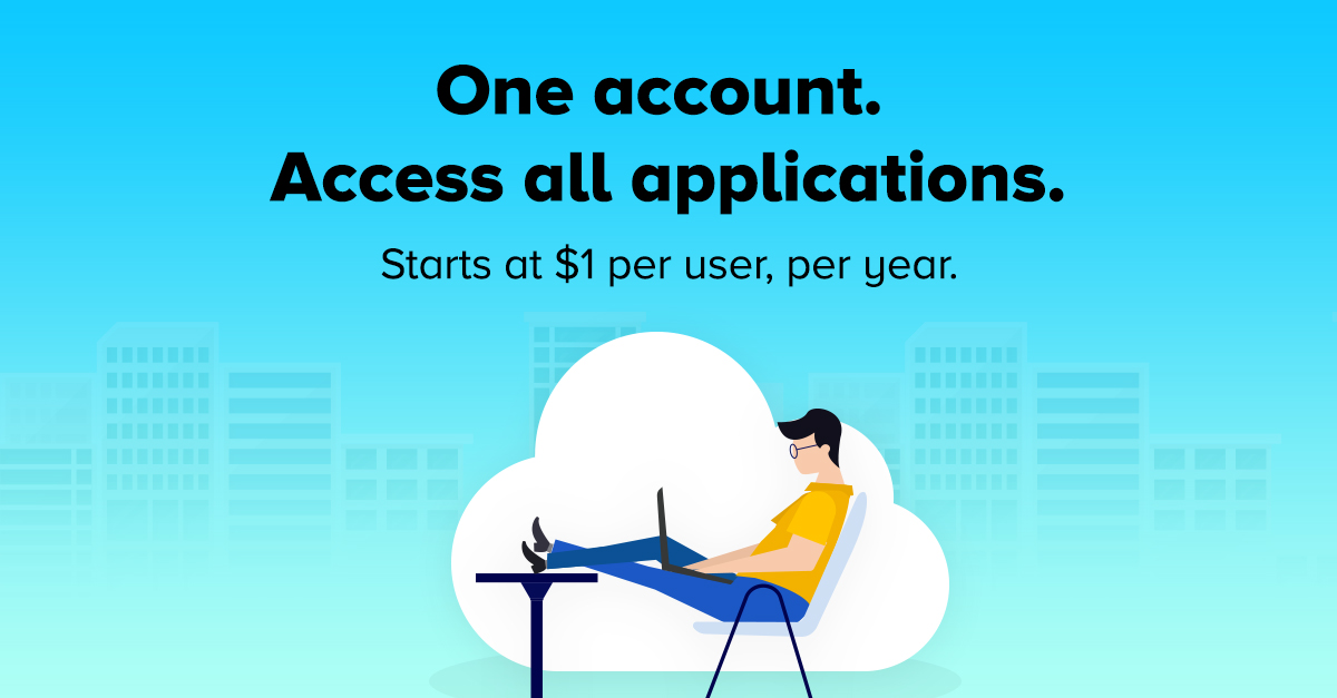Identity Manager Plus provides users one-click access to all applications.