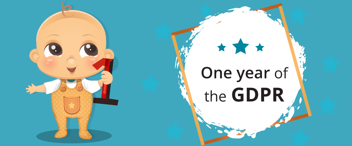 One year of the GDPR