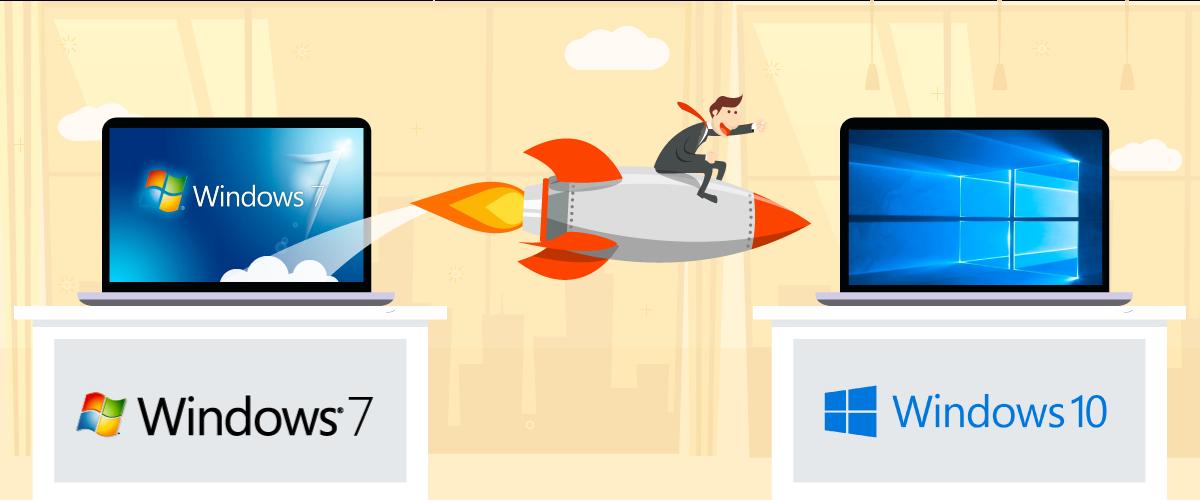 Windows 7 to Windows 10 migration tool