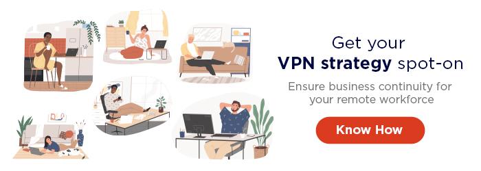 VPN bandwith monitoring