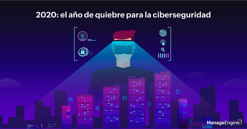 Banner blog de ciberseguridad ManageEngine