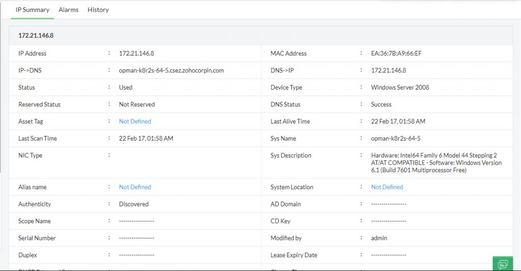 Wake On LAN Solutions - ManageEngine OpUtils