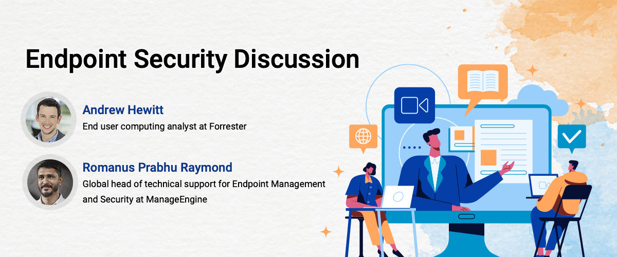 UEM webinar co-hosted by Forrester's Analyst