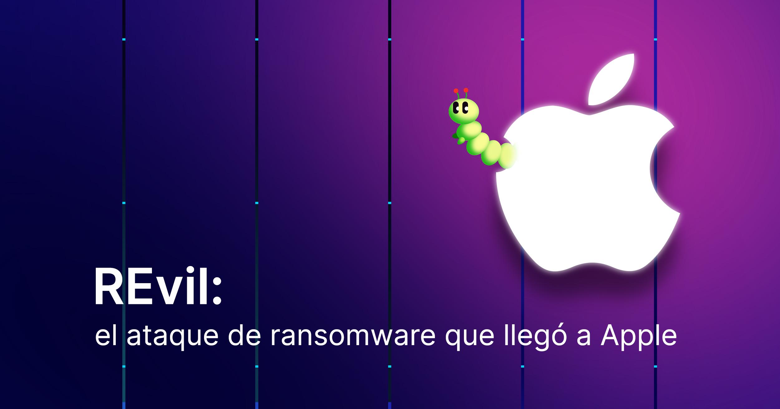 Ilustración blog caso revil apple