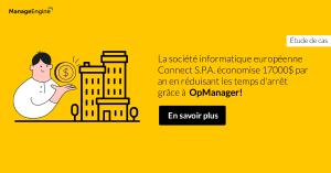 Connect S.P.A. améliore son jeu de gestion des performances du réseau avec OpManager!